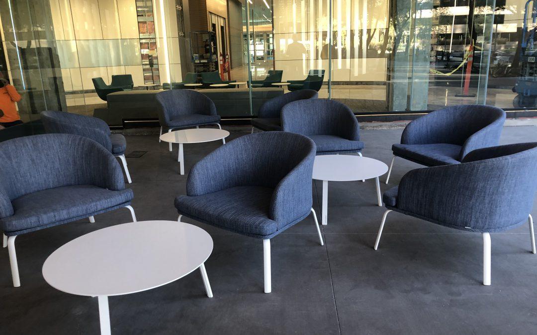 Akula Installation Chairs
